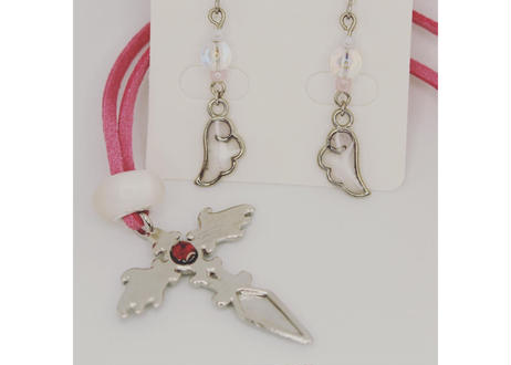 【満月までの企画】大天使ハニエルピアスにペンダントプレゼント!