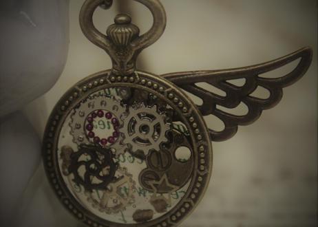 [ライフレビュー] ミニ懐中時計*アンティーク(STAR)