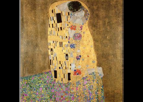 グスタフ・クリムト 「接吻」