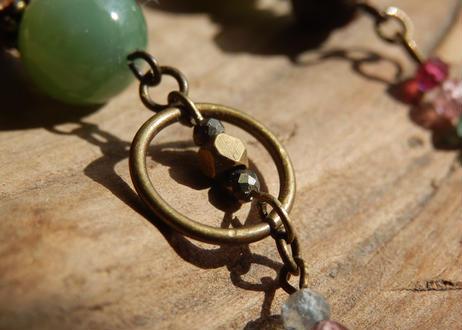 【チャクラ御守り】ジャッジを手放し、愛と受容と癒しの 第4チャクラを整える ∞ Green Feeling Amulet ∞