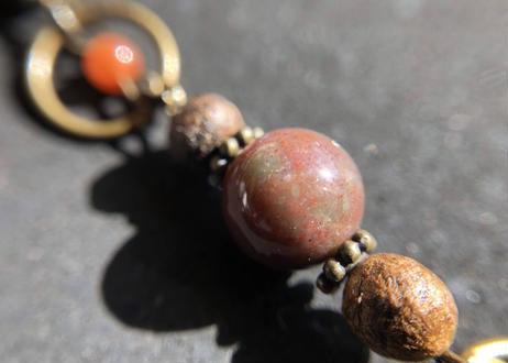 【チャクラ御守り】肉体と繋がり大地と繋がる! 第1チャクラを整える ∞Volcano Amulet ∞