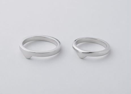 【SV925】smileadd(Flat/Round) : Ring