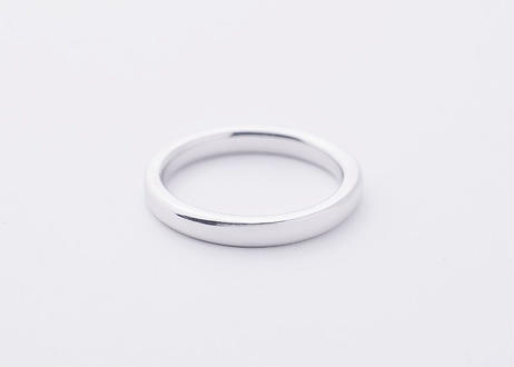 【Pt900】Yours_SemiFlat : Ring