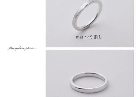 【Pt900】Yours_Flat : Ring