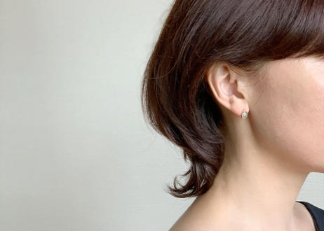 【SV925】小さな窓 : Pierced Earrings