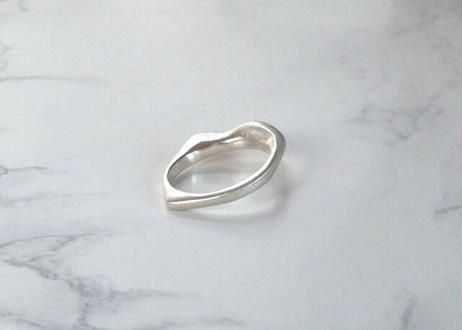 【SV925】flower shower :  Ring(Pink Silver/Silver)