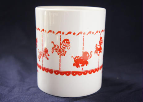 Attractions Merry-Go-Round Mug(Print:Red or Blue)