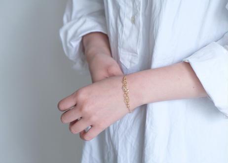 Akoya bobble chain bracelet