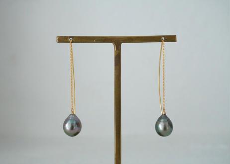 south sea pearl drop ameican tube pierce