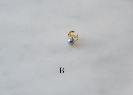 Akoya  blue M earcuff