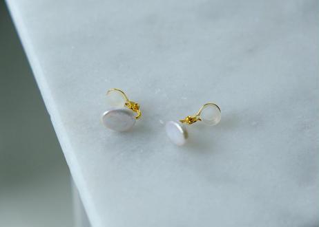 oval soft nonhole pierce (イヤリング)
