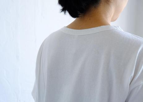 【NATURAL LAUNDRY】18USドット刺繍Tシャツ