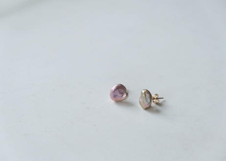petal pink S stud pierce