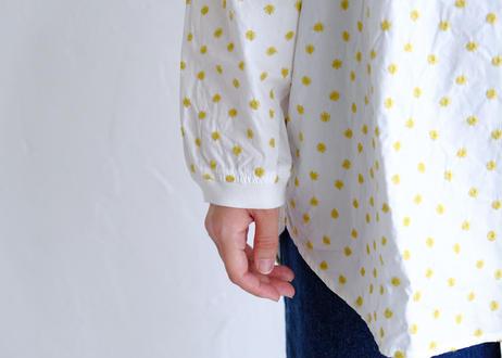 【NATURAL LAUNDRY】フラワー刺繍 チュニックP/O