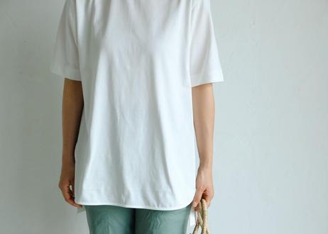 【si:m】コットン スリットTシャツ