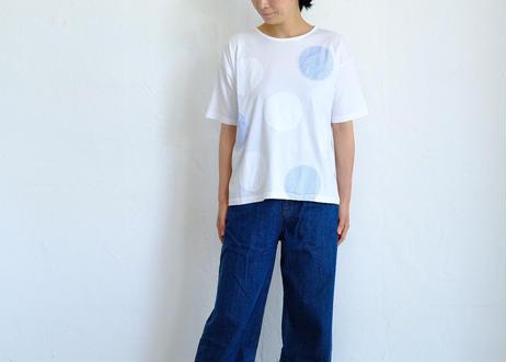 【grin】B天竺ドットワイドTシャツ