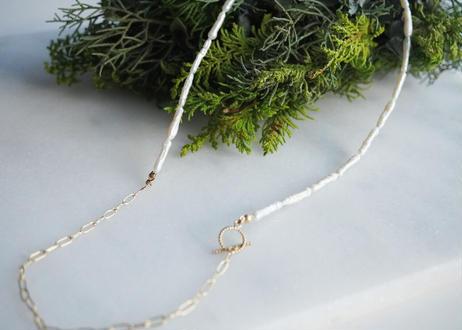 stick  gold long necklace