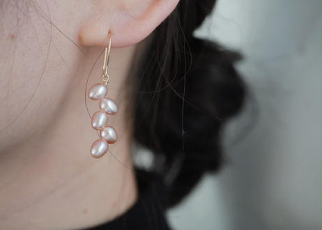 egg randam pink hook pierce