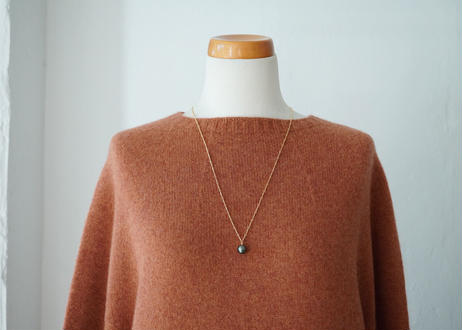south sea pearl straigh bar long necklace