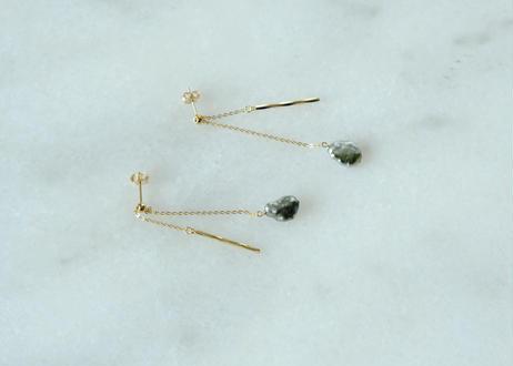 south sea  pearl seesaw bar pierce