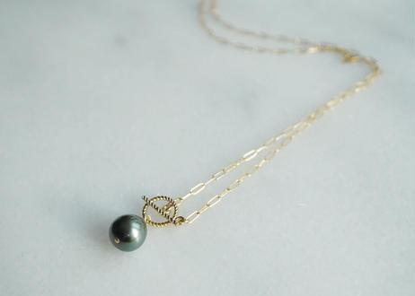 south sea pearl long mantel necklace