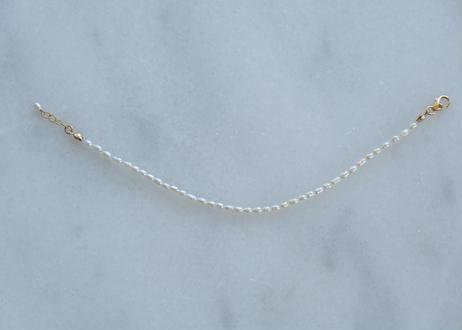 tiny SS  egg basic bracelet