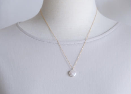 coin L necklace