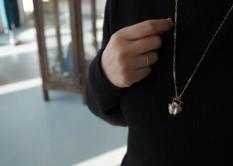 bouquet long necklace