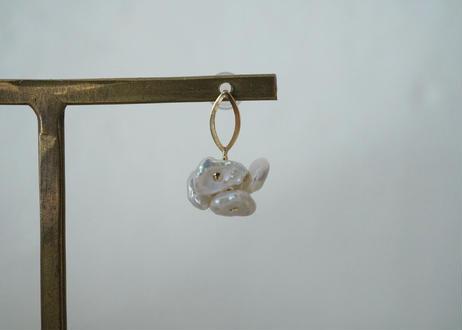 fragment oval stud pierce