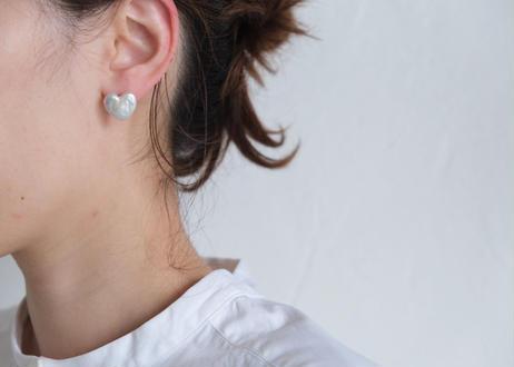 heart L soft nonhole pierce (イヤリング)