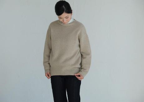 【si:m】ニットヤーン UネックP/O