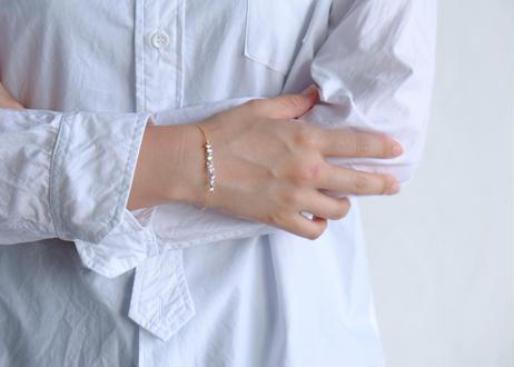 Akoya dew simple bracelet