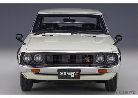 AUTOart 1/18 日産 スカイライン 2000 GT-R (KPGC110) (ホワイト) 77472