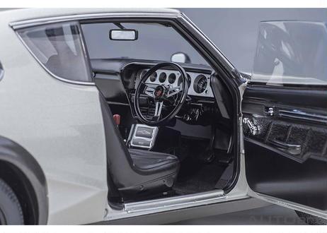 AUTOart 1/18 日産 スカイライン 2000 GT-R (KPGC110) (シルバー) 77471