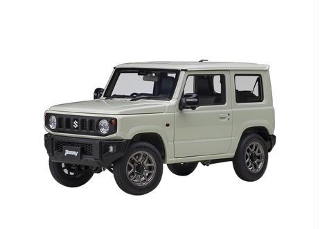 AUTOart 1/18 スズキ ジムニー (JB64) (ホワイト・パール) 78505