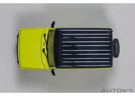 AUTOart 1/18 スズキ ジムニー (JB64) (イエロー/ブラック・ルーフ) 78501