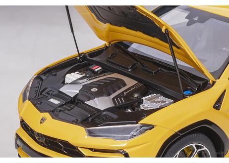 AUTOart 1/18 ランボルギーニ ウルス (イエロー) 79163