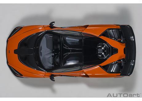 AUTOart 1/18 マクラーレン セナ (オレンジ) 76078