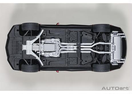 AUTOart 1/18 シボレー カマロ ZL1 2017 (メタリック・ダークレッド) 71208
