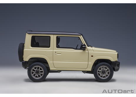 AUTOart 1/18 スズキ ジムニー (JB64) (アイボリー・メタリック/ブラック・ルーフ) 78500