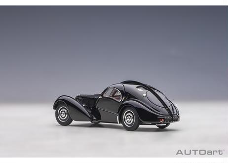 AUTOart 1/43 ブガッティ タイプ57SC アトランティック 1938 (ブラック/ディスクホイール) 50946