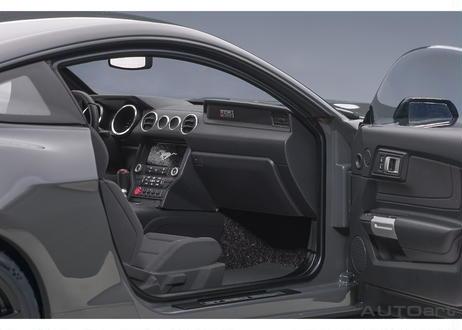 AUTOart 1/18 フォード シェルビー GT350R (グレー/ブラック・ストライプ) 72930