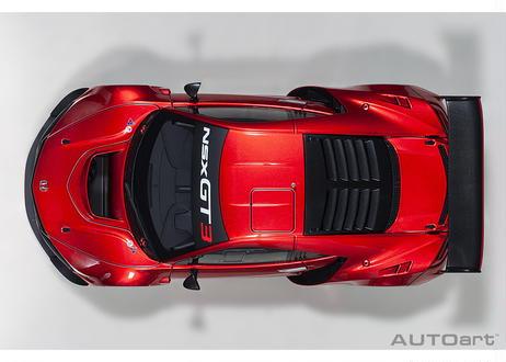 AUTOart 1/18 ホンダ NSX GT3 2018 (ハイパー・レッド)*開閉無 81895