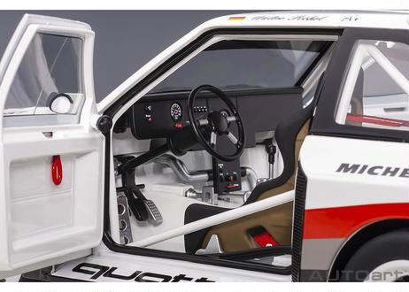 AUTOart 1/18 アウディ スポーツクワトロ S1 1987 #1 (パイクスピーク優勝/ヴァルター・ロール) 88700