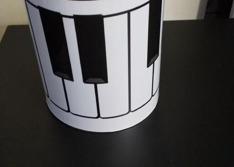 ボード用マーカーで書き消しできる!・ピアノ鍵盤マグネットシート<小>