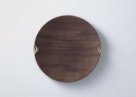 【Lサイズ】SHIMA_SHIMA Dish_Round ゴールドクラフト