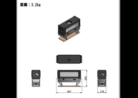 #UniLightboxS  + 収納バッグ《送料着払》