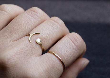abstract ring(brass)