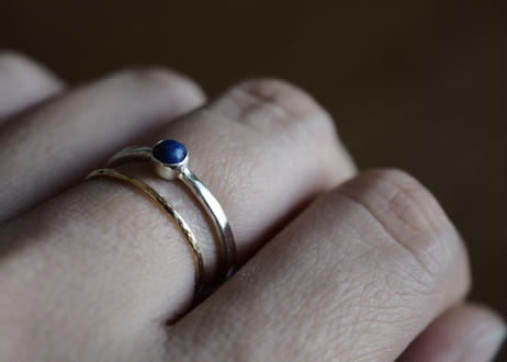 ラピスラズリの指輪  (silver950)