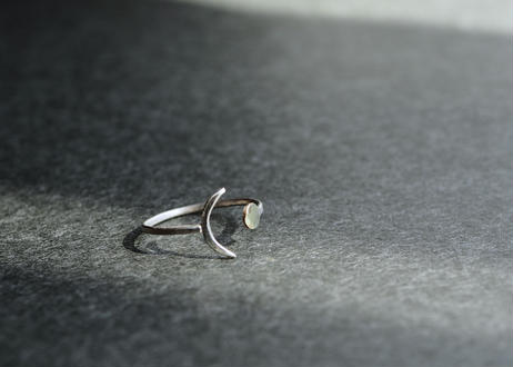 abstract ring(silver950)